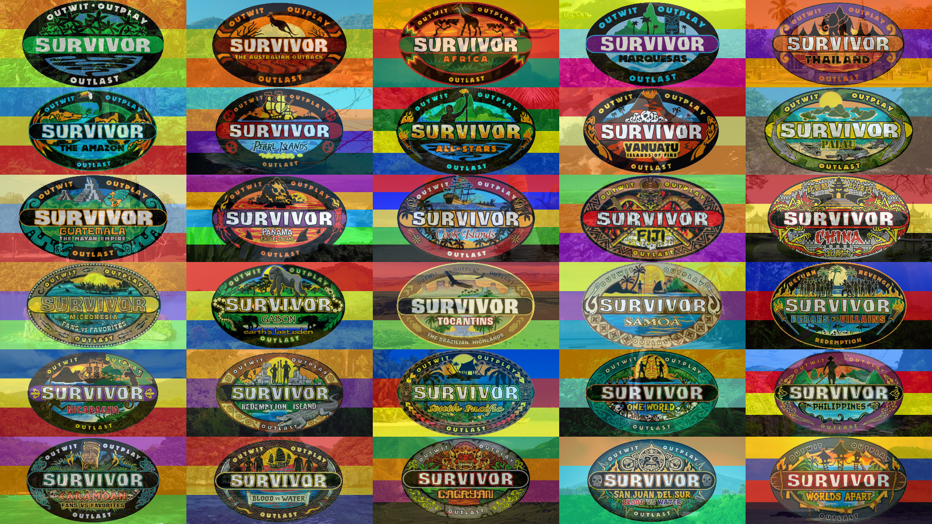 Pictures of Survivor HD, 1920x1080, December 30, 2013