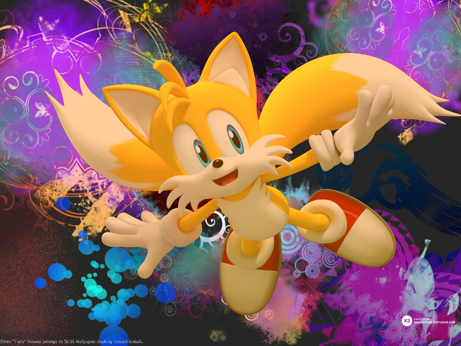 Full High Quality, Tails, Cherish William