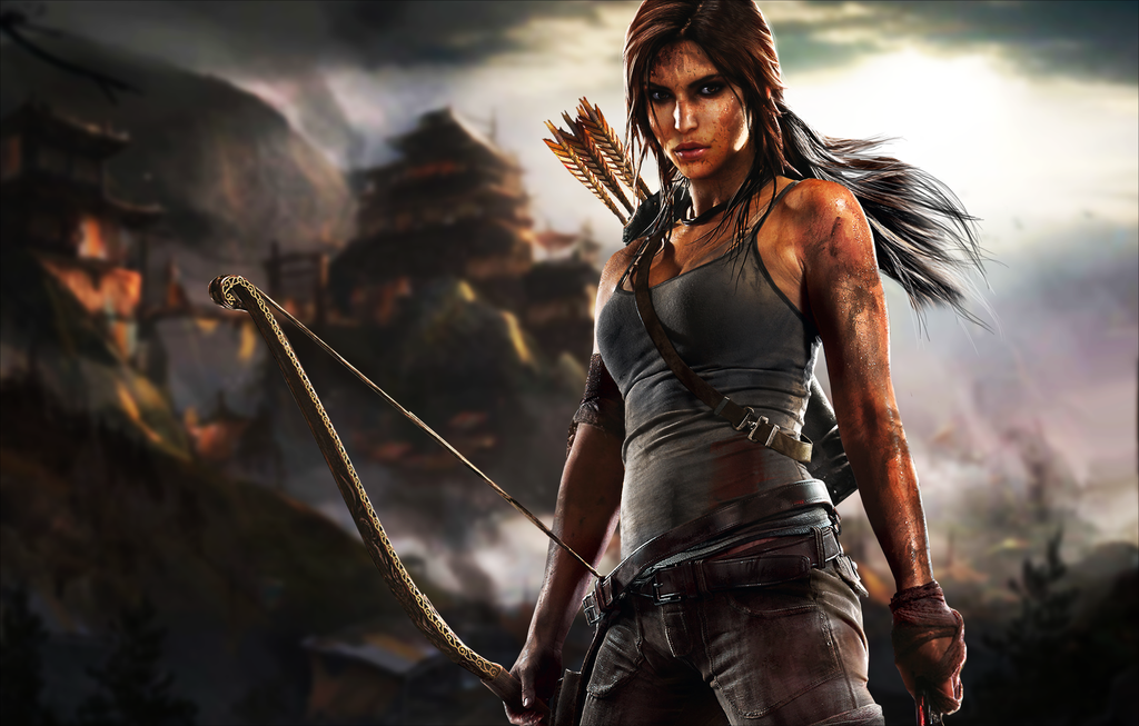 1024x653 px Nice HDQ Cover Pics of Tomb Raider, Full HD 1080p Desktop Pics for PC&Mac, Laptop, Tablet, Mobile Phone