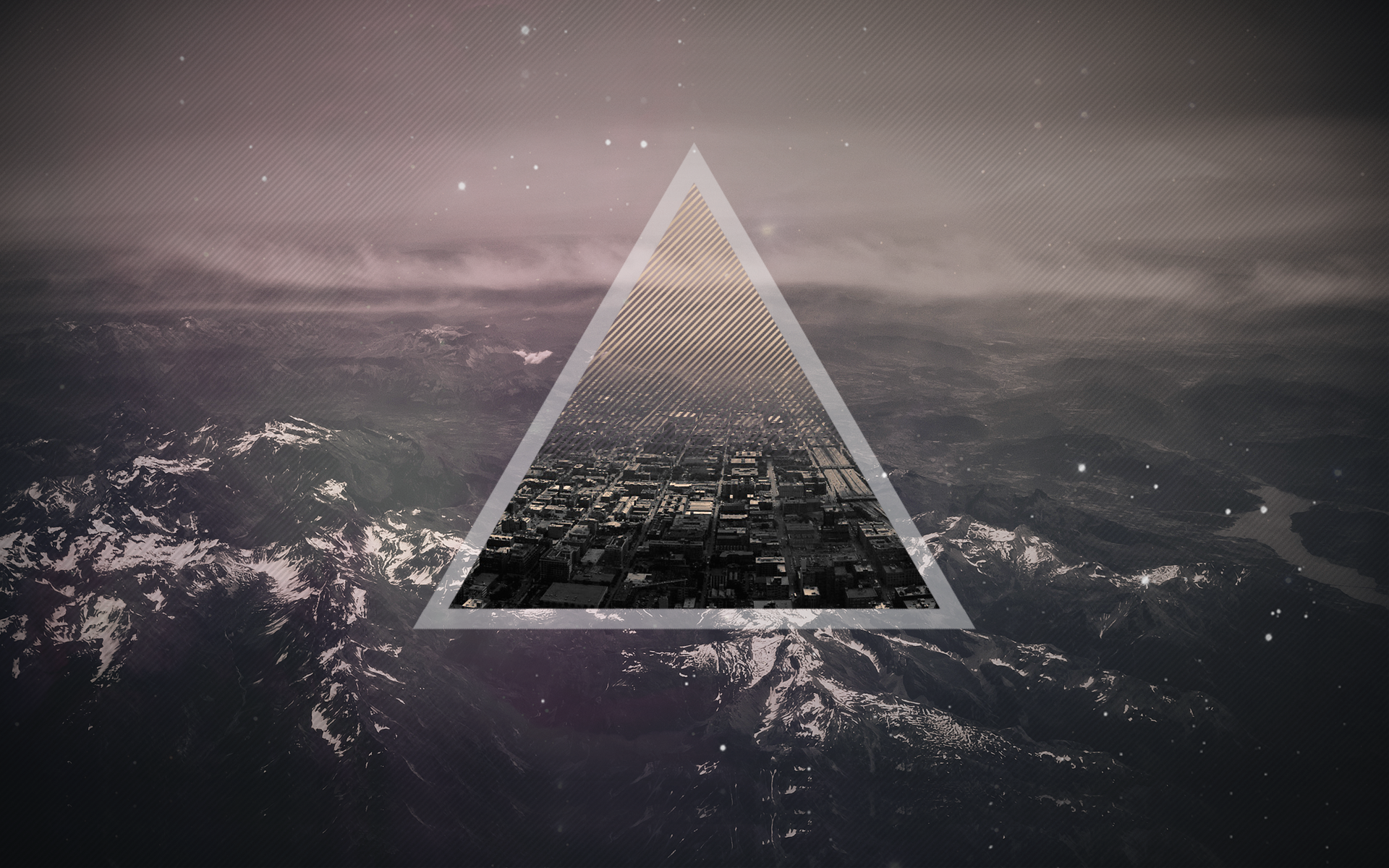 Quality Cool Triangles Wallpapers