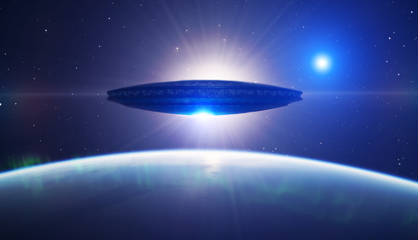 Widescreen Wallpapers: Ufo, (1416x812 px, V.99)