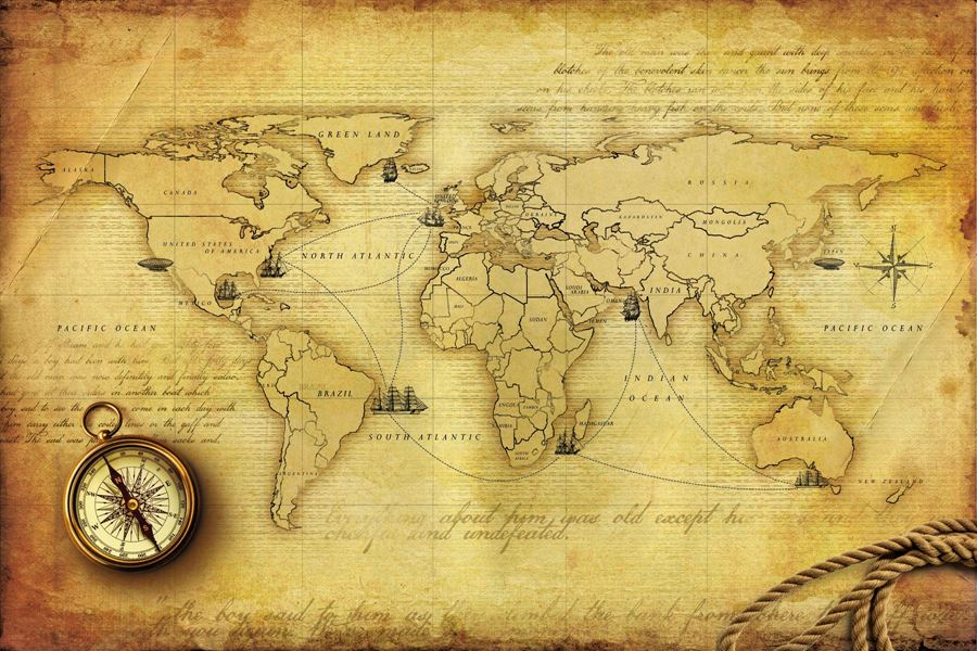 Vintage Maps Wallpapers | Top 11 Vintage Maps Wallpapers