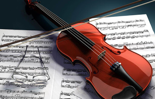 HDQ Creative Violin Pictures, 512x326 px, Jared Cavallo
