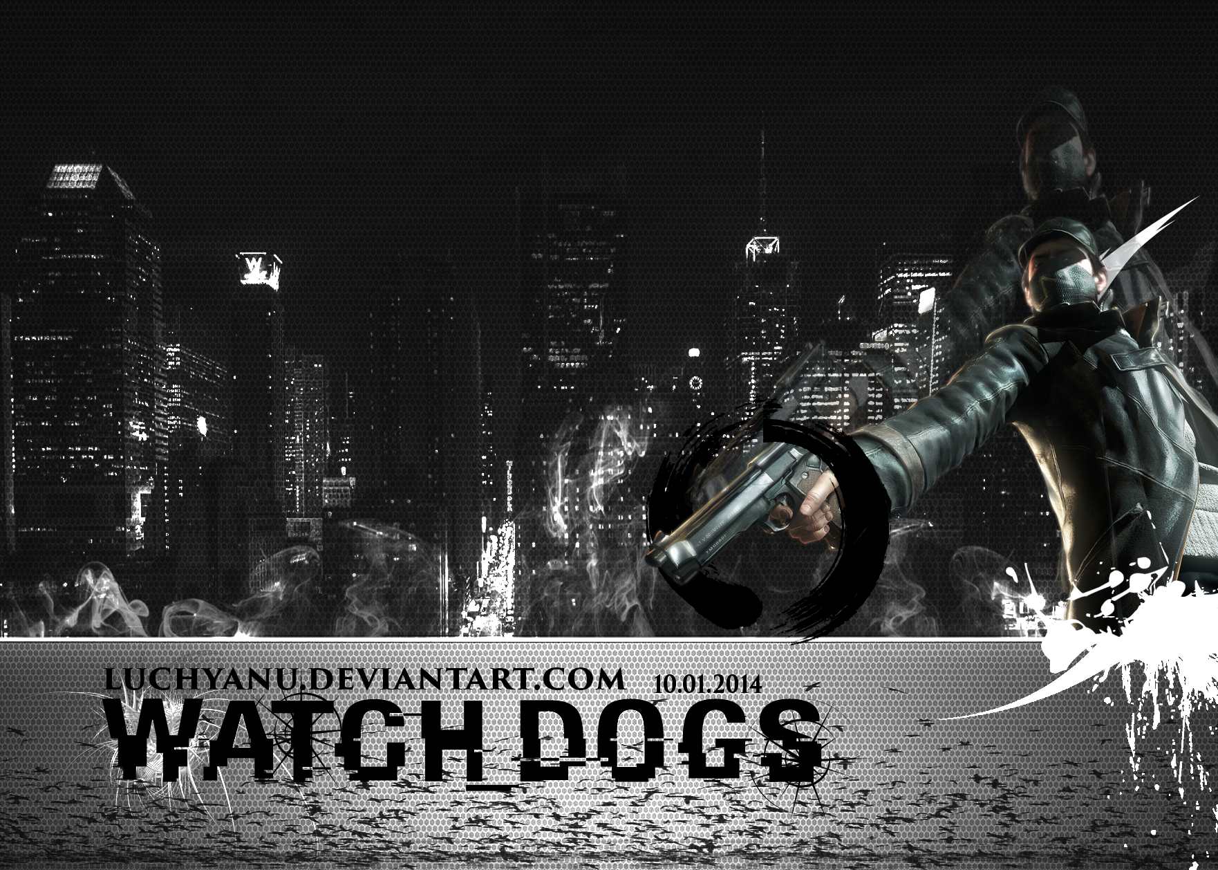 Watchdogs HD Wallpapers, 2.5 Mb, Sheba Hamilton