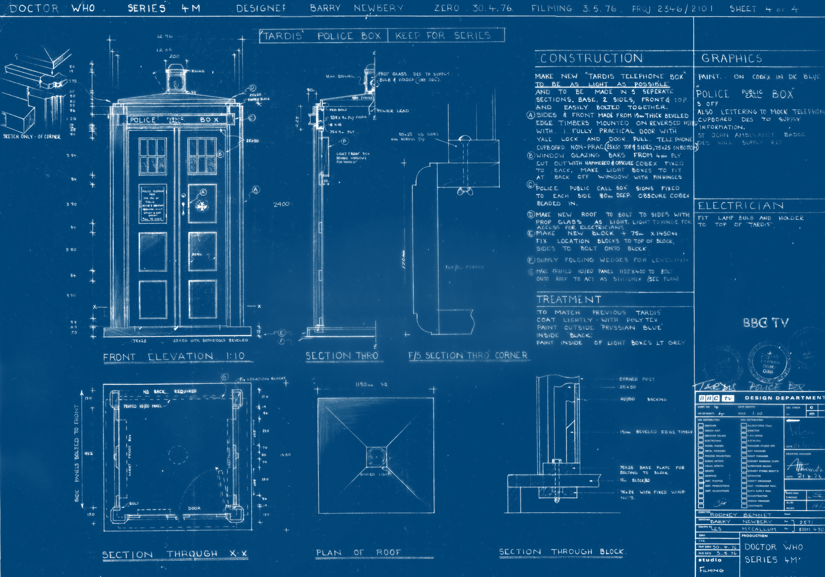 Blueprint Pics (Mobile, iPad)