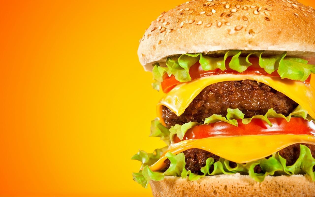 Burger Backgrounds (PC, Mobile, Gadgets) Compatible | 1280x800