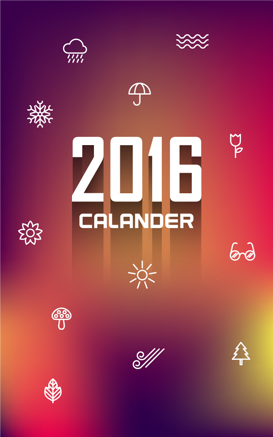 562x900 px Calendar Desktop Wallpapers