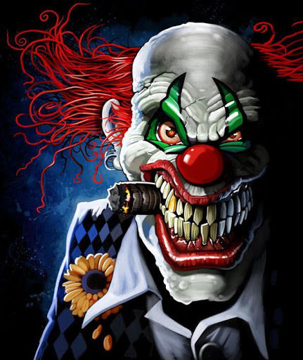 Beautiful Clown Images in HD Widescreen