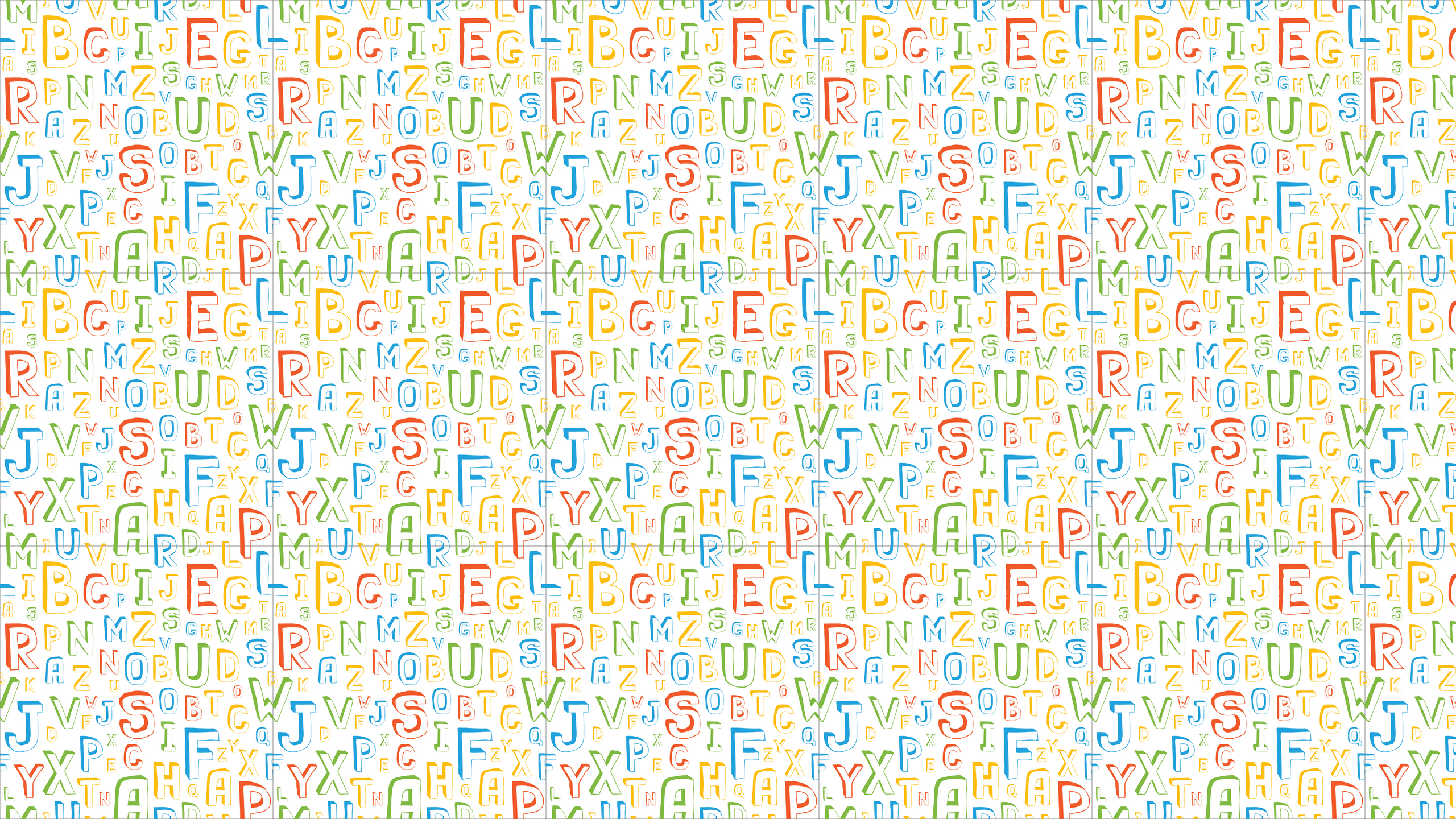 V.81 Alphabet, High Definition Images