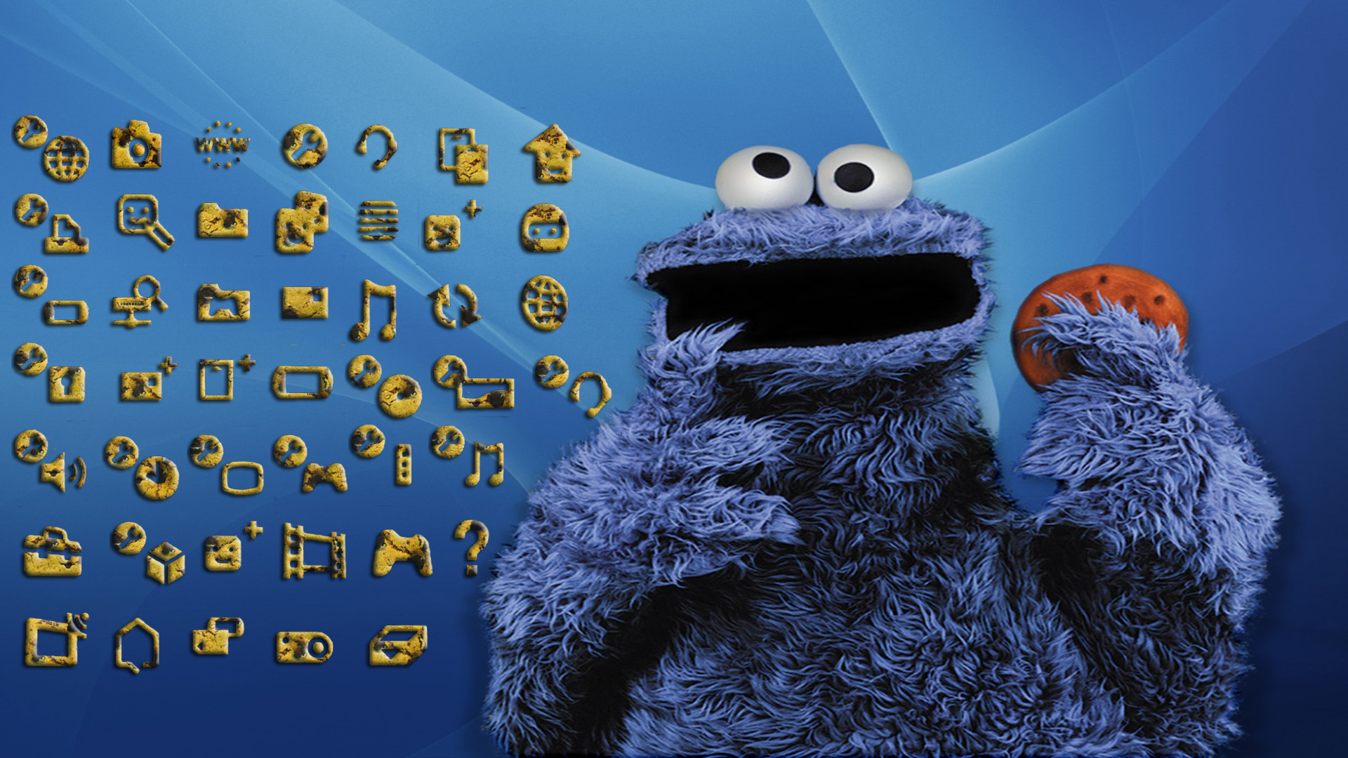 Cookie Monster | Background ID:27172387