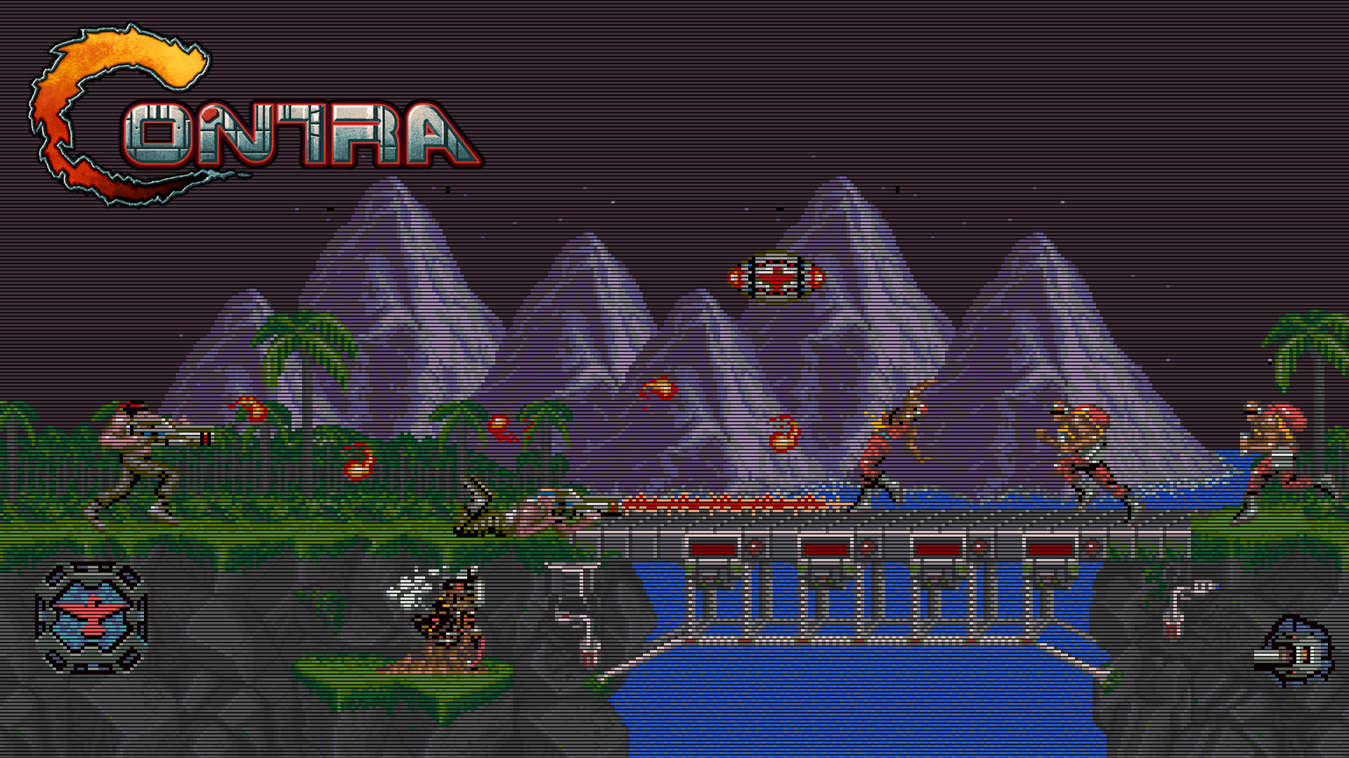 Desktop Backgrounds: Contra, by Meagan Schult, 1920x1080