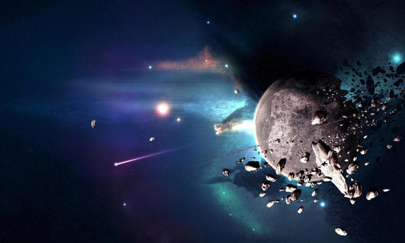 November 27, 2014 - Cool Asteroid (Wallpapers), 800x480