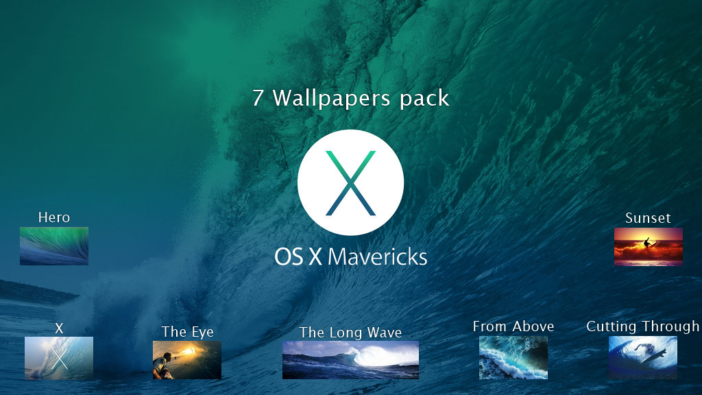 Cool Os X Mavericks HD Backgrounds for PC