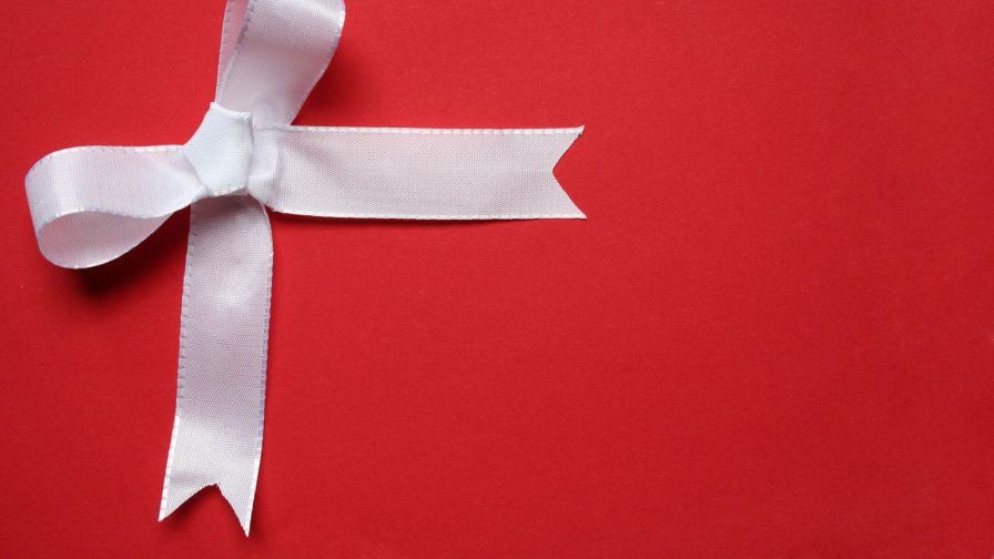 PC 896x504 Cool Christmas Bow Wallpaper, BsnSCB.com