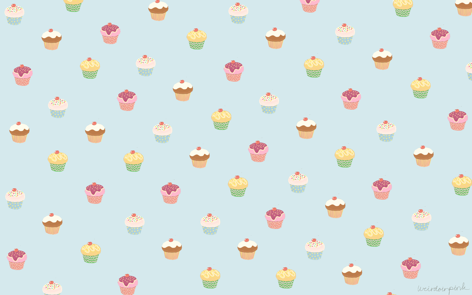 New Cupcake HD Widescreen Wallpapers