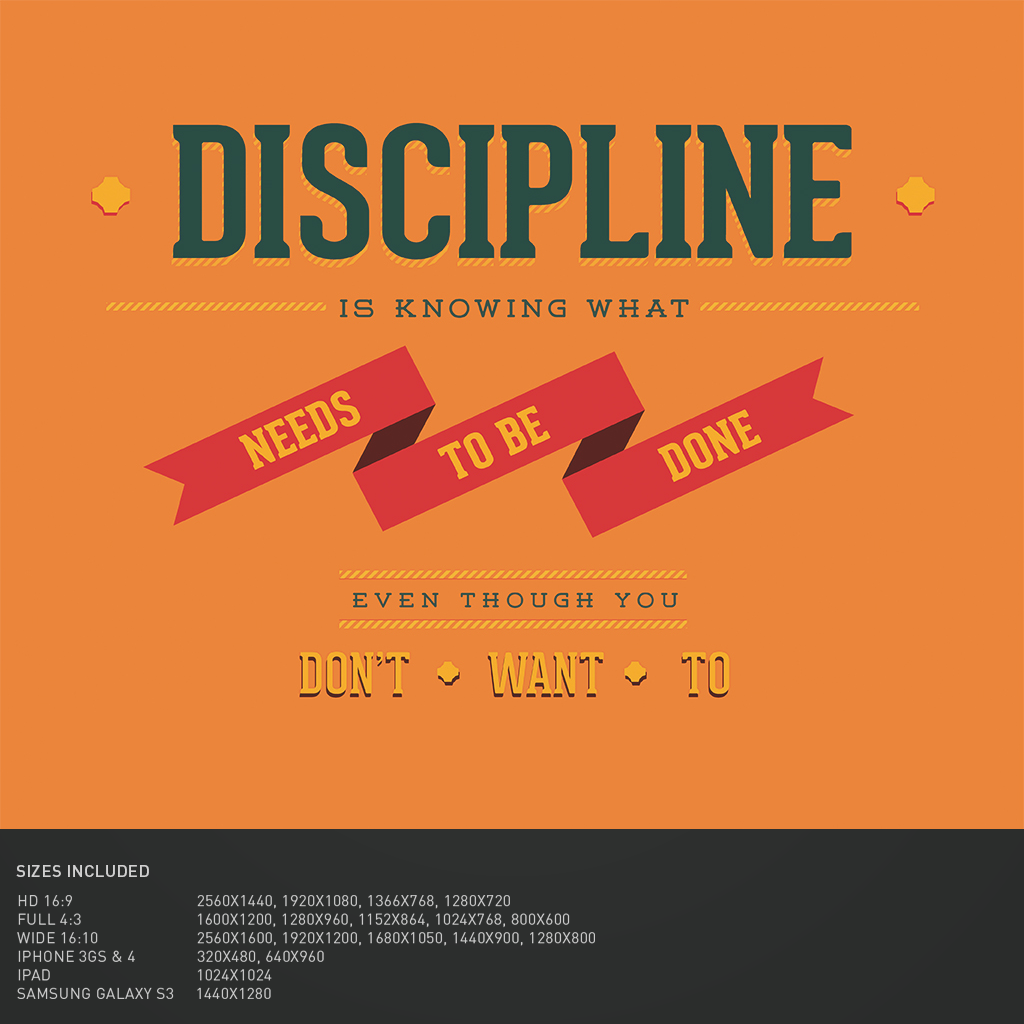 B.SCB WP&BG Collection: Discipline, by Jone Stephens