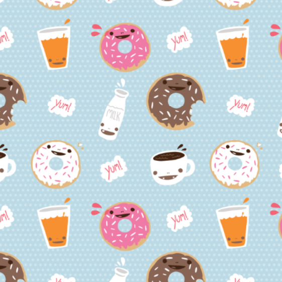 Backgrounds In High Quality: Doughnut by Devona Selden, 11.30.15
