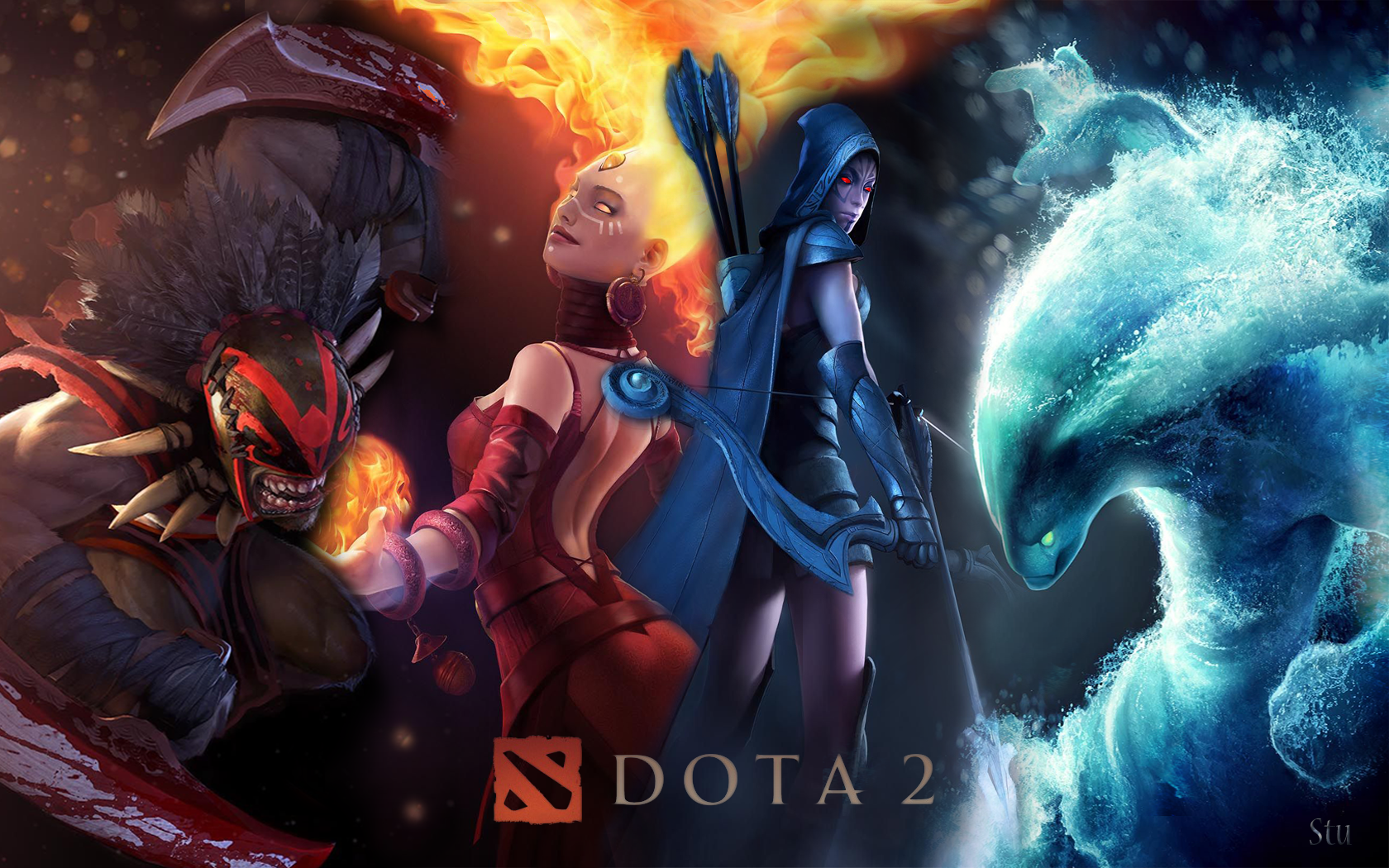 (1680x1050) - Dota 2 Wallpapers, Chan Montes