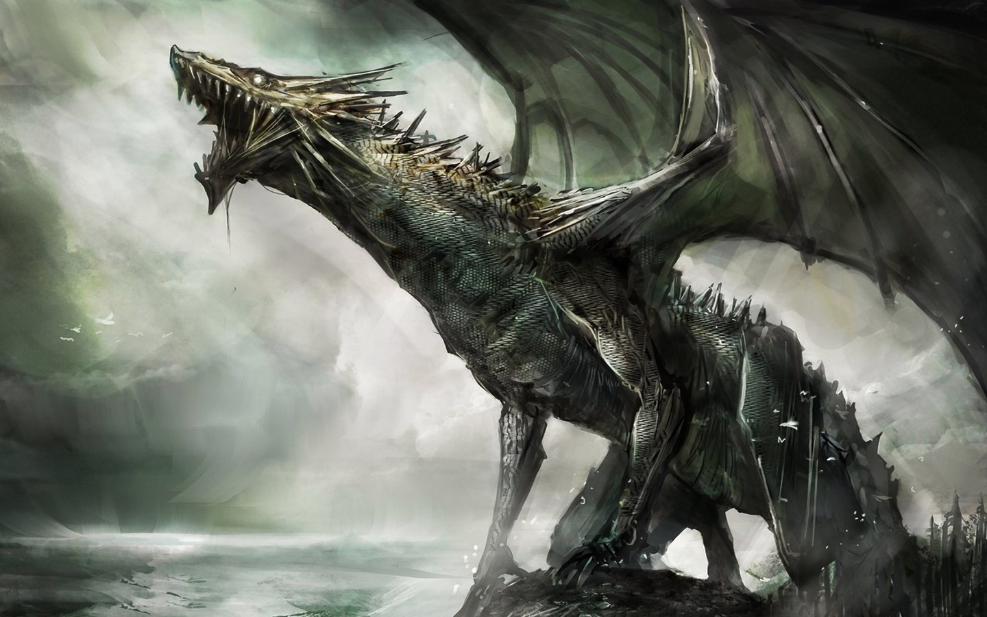 Dragon Wallpaper by Vince Vandemark PC.18-XGB