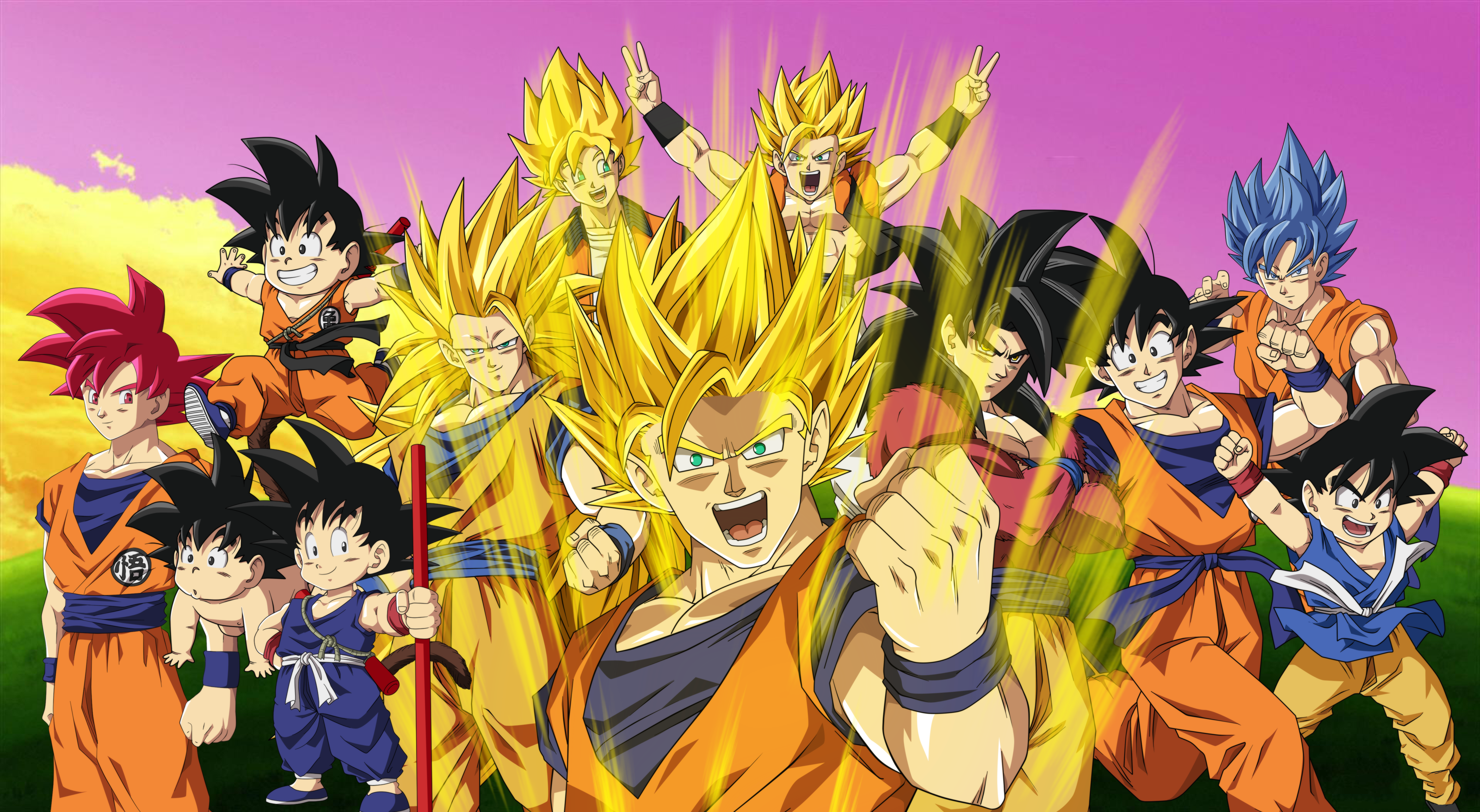 Top Beautiful Dragon Ball Z Photos, 5608x3078