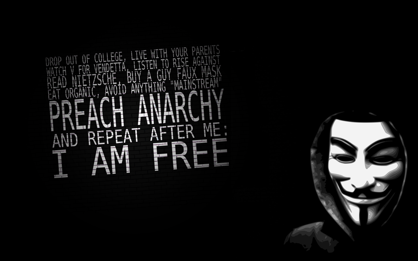 Anarchist Wallpapers, 1440x900 | Wallpapers PC Gallery