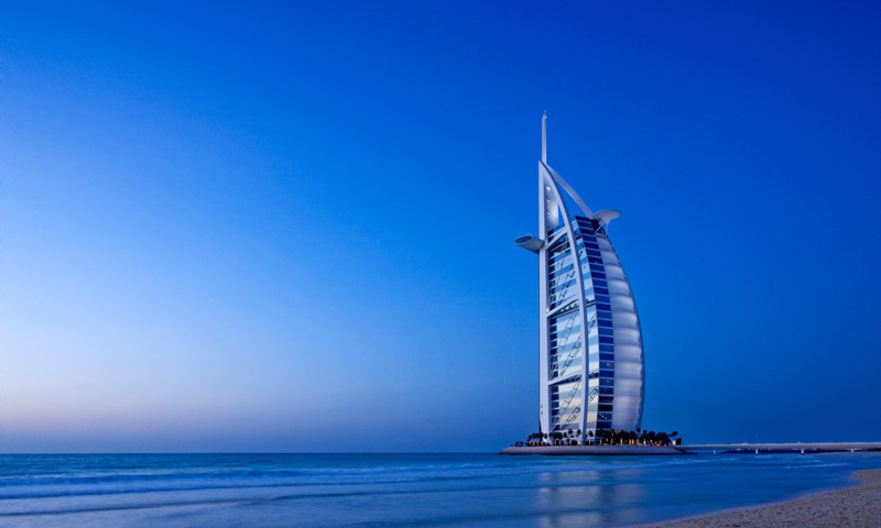YSB94: Dubai Wallpaper 800x480 Download
