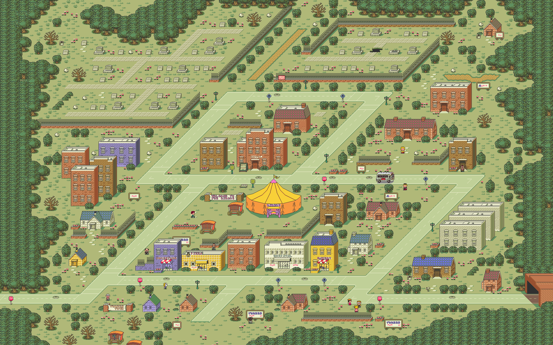 Amazing 39240859 Earthbound Wallpapers | 1920x1200 px