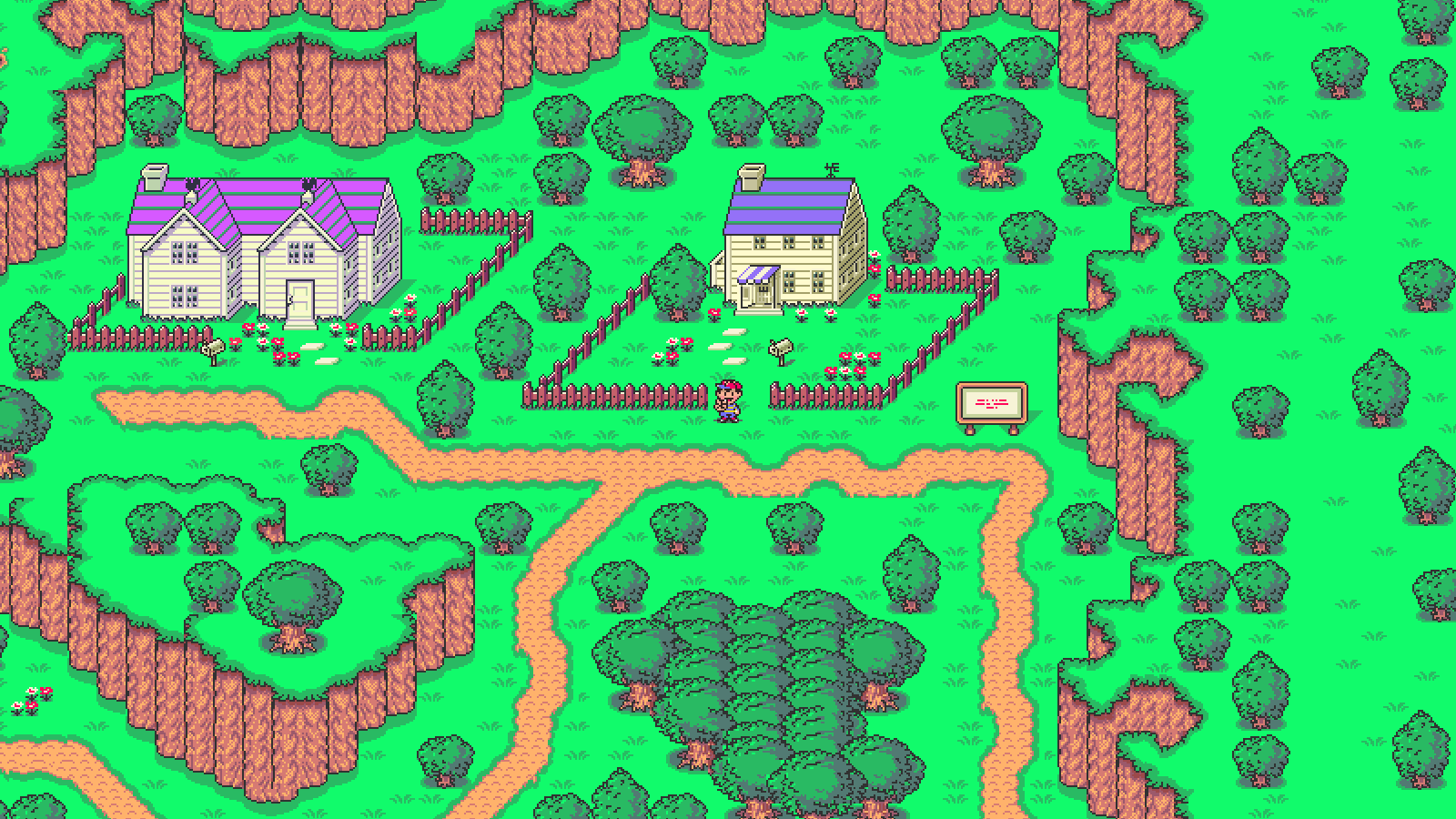 High Quality Image of Earthbound - 1600x900 px