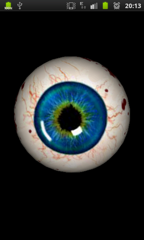 Best Eyeball 480x800 px Wallpaper by Enda Traub