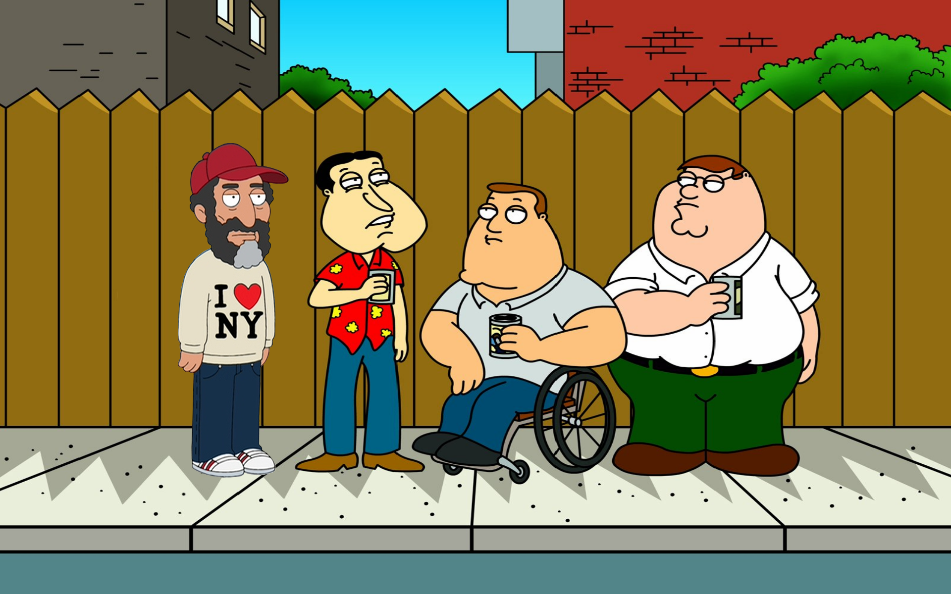 Desktop Images of Family Guy: 01/07/2014 by Kimber Janusz