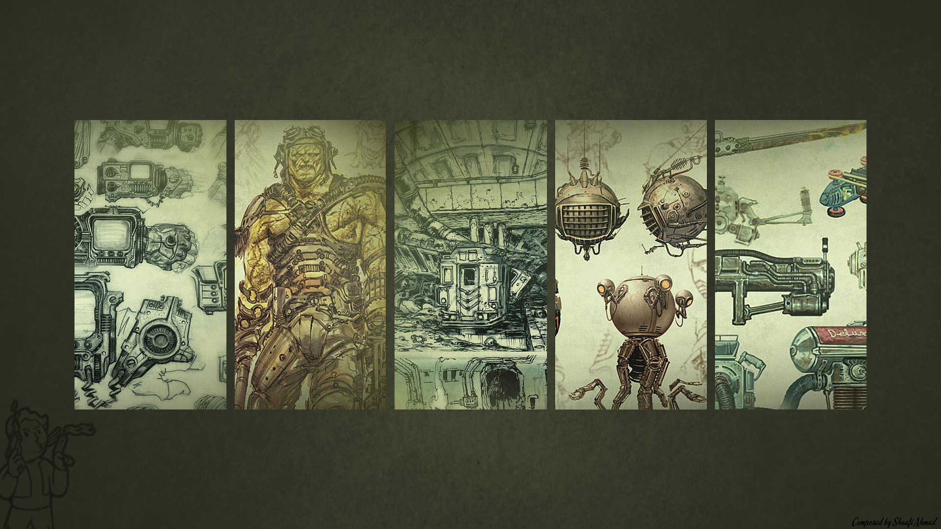 By Jared Cavallo PC.34: Fallout Backgrounds&Backgrounds