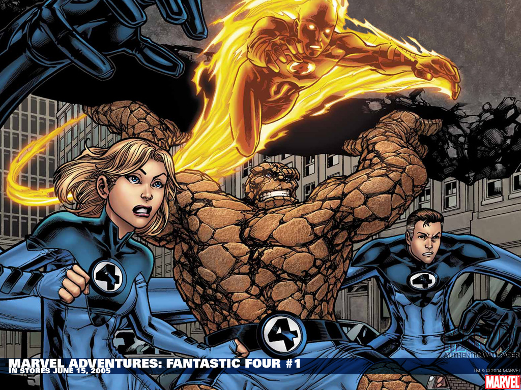 Adorable Fantastic Four Wallpaper, 38804762 1024x768