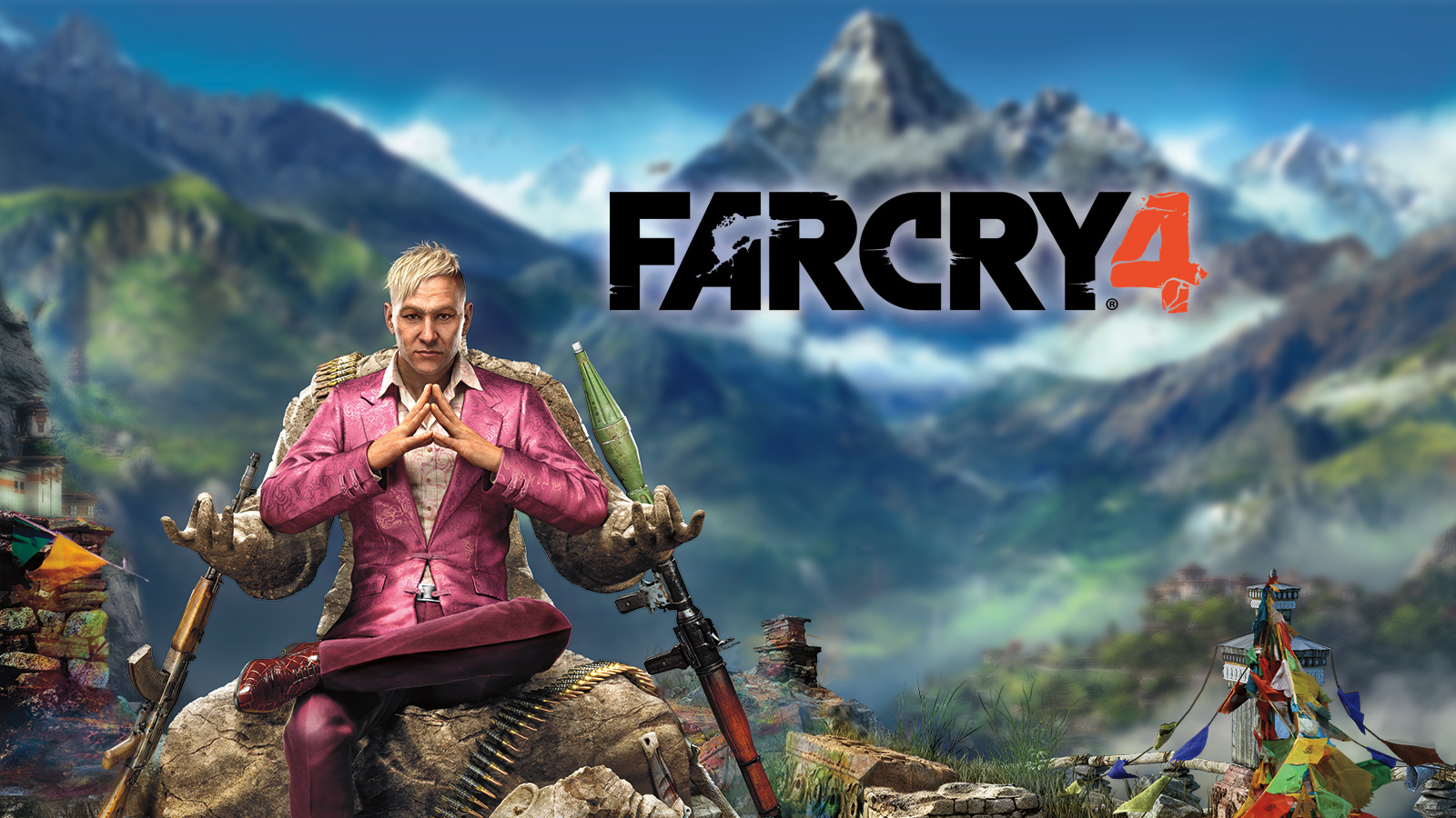 Far Cry 4 High Resolution Wallpapers (Stormy Mullenax, 1600x900)