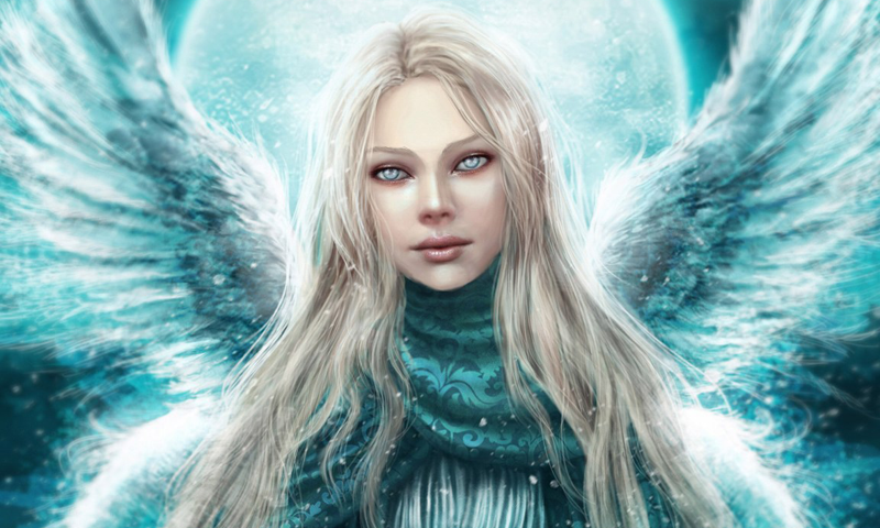 By Jadwiga Olah - Angel Wallpapers, 800x480