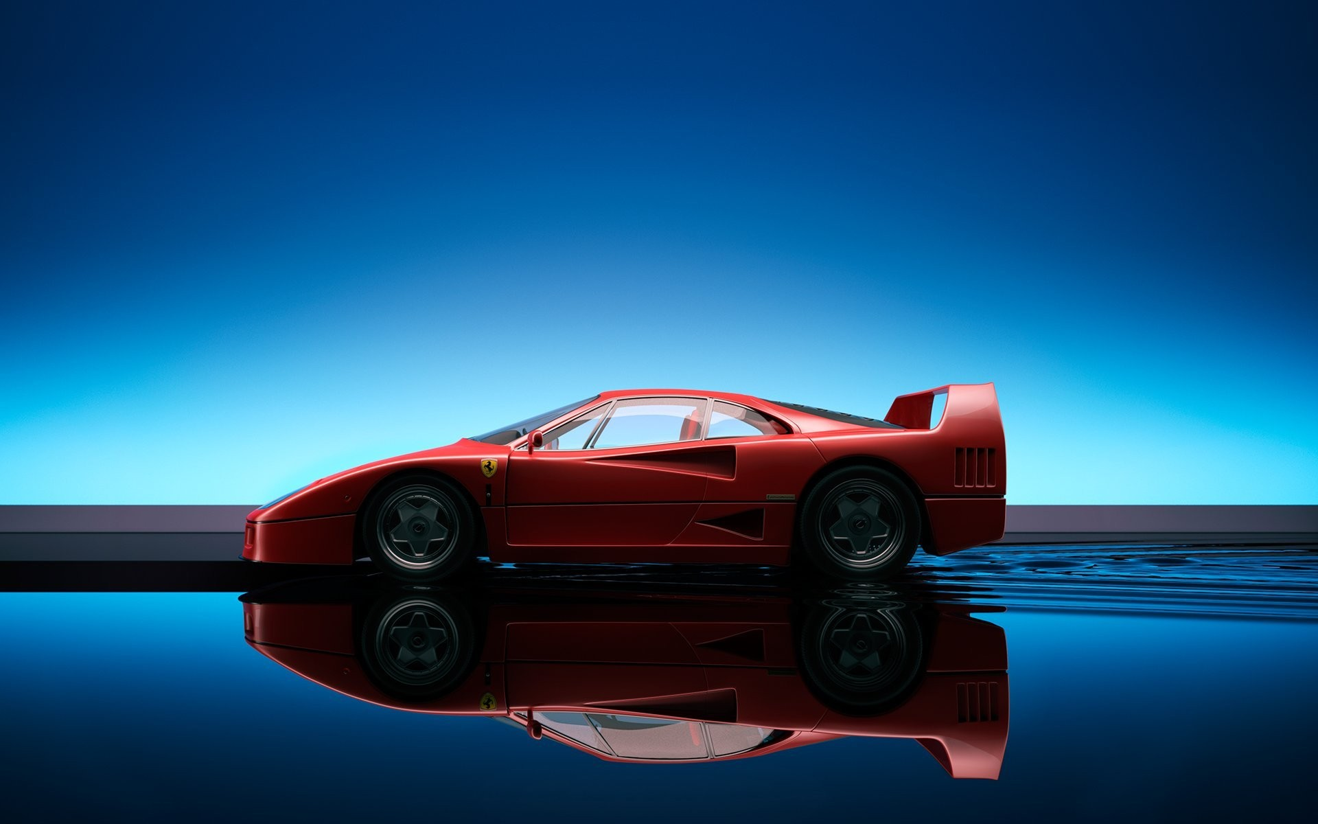 Tablet Compatible - Ferrari F40 {HQ} Wallpapers