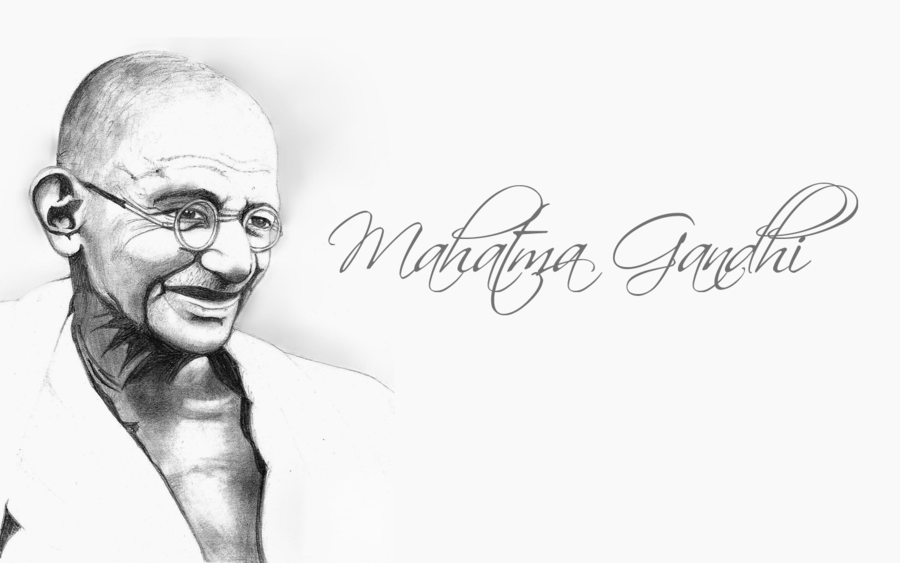 Wallpapers of Gandhi HDQ