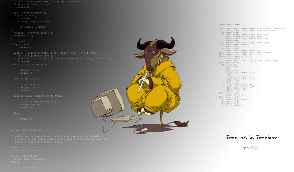 Gnu Wallpaper for PC | Full HD Pictures
