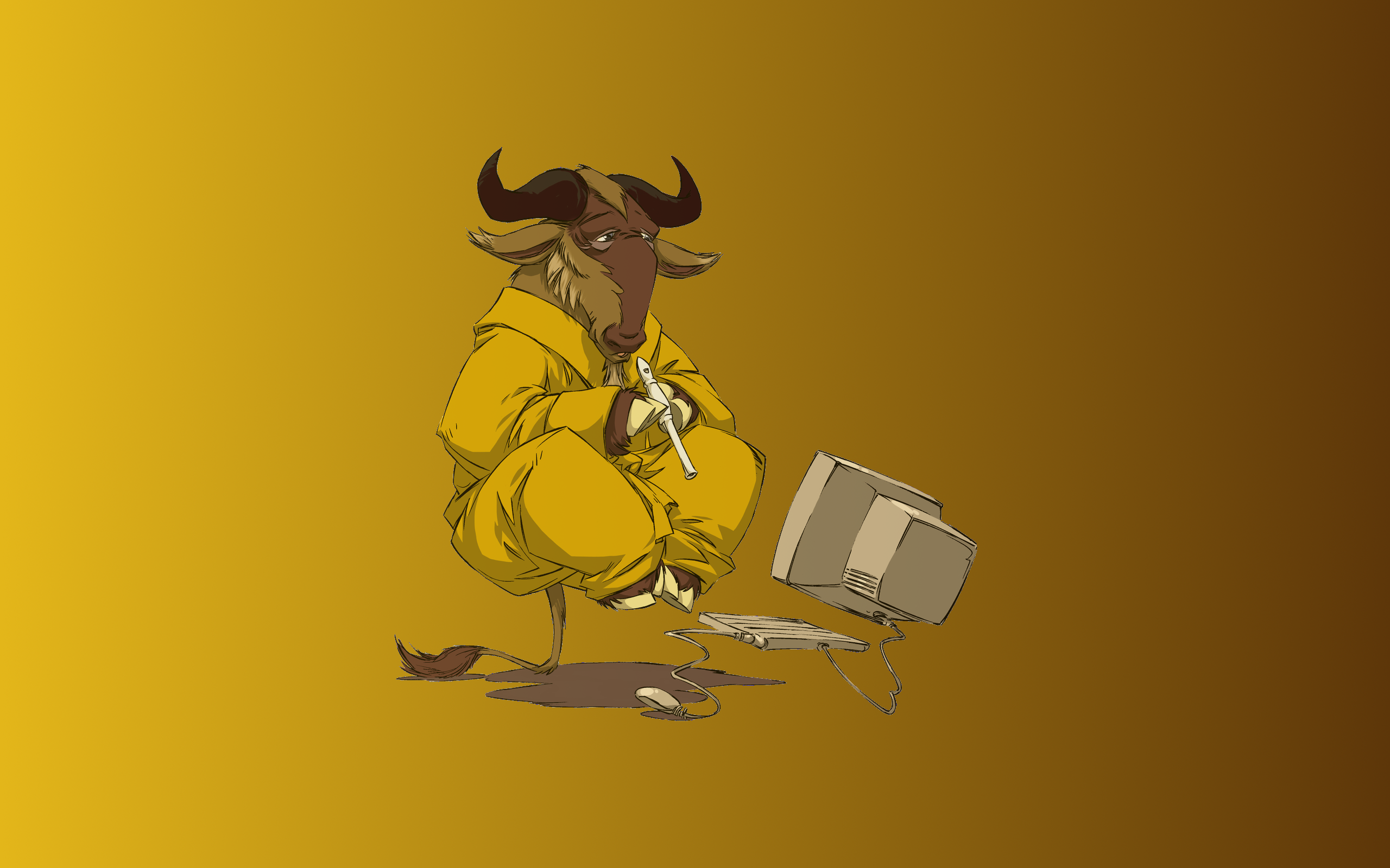 Pictures of Gnu HD, 2560x1600 px, October 20, 2014