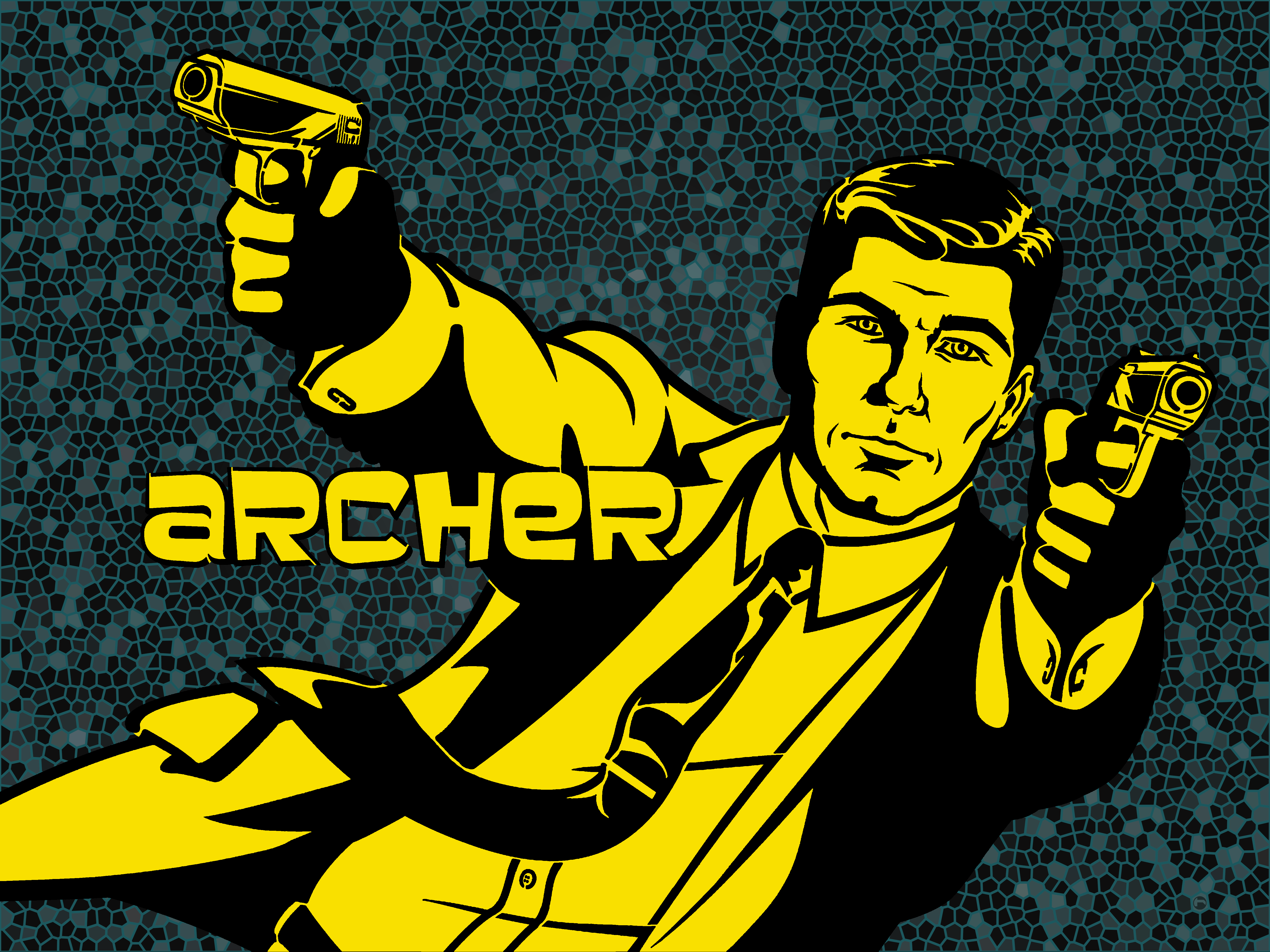 Archer Wallpaper by Sylvester Mcmakin, BsnSCB | Cartoons HDQ Cover