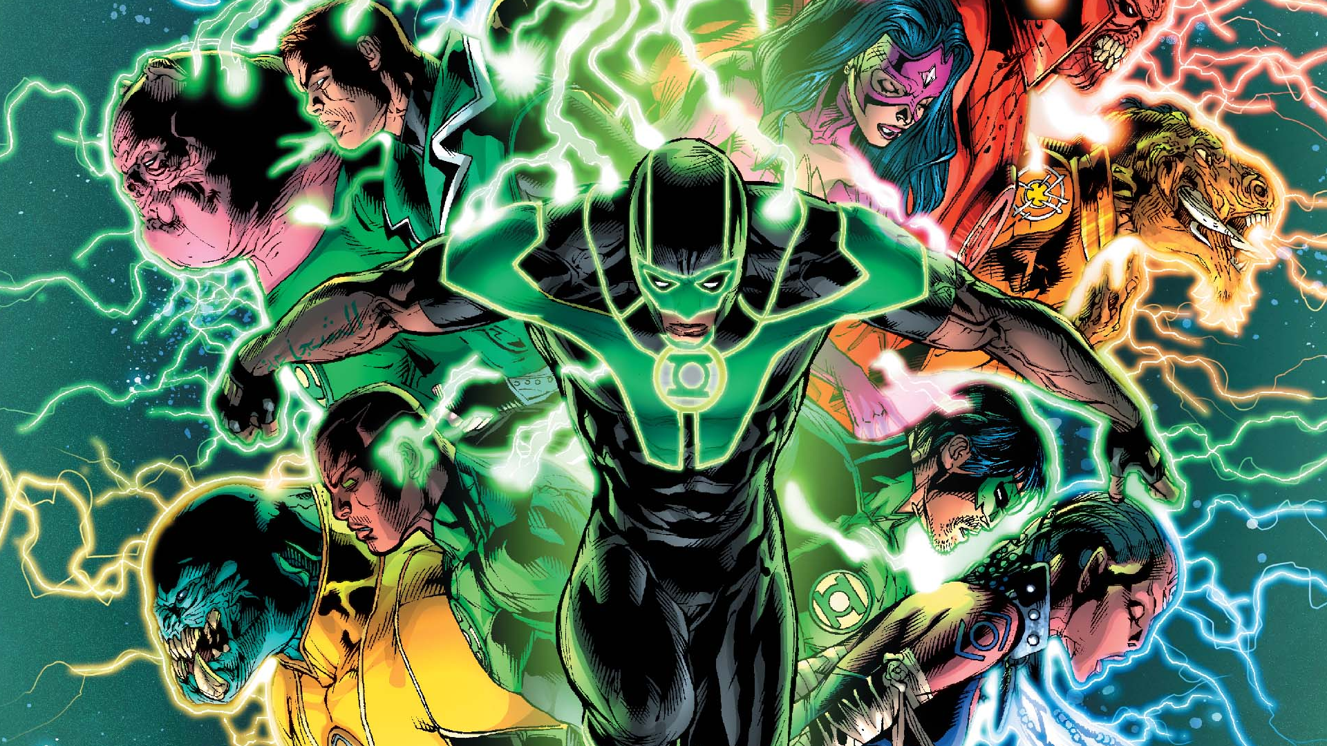 Wallpapers for Green Lantern - Resolution 1920x1080 px