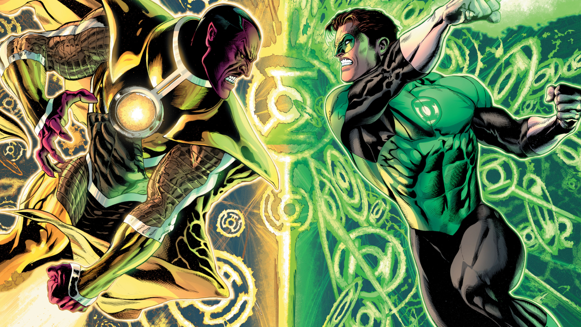 Desktop Images of Green Lantern: 30/01/2016 by Ned Kinser