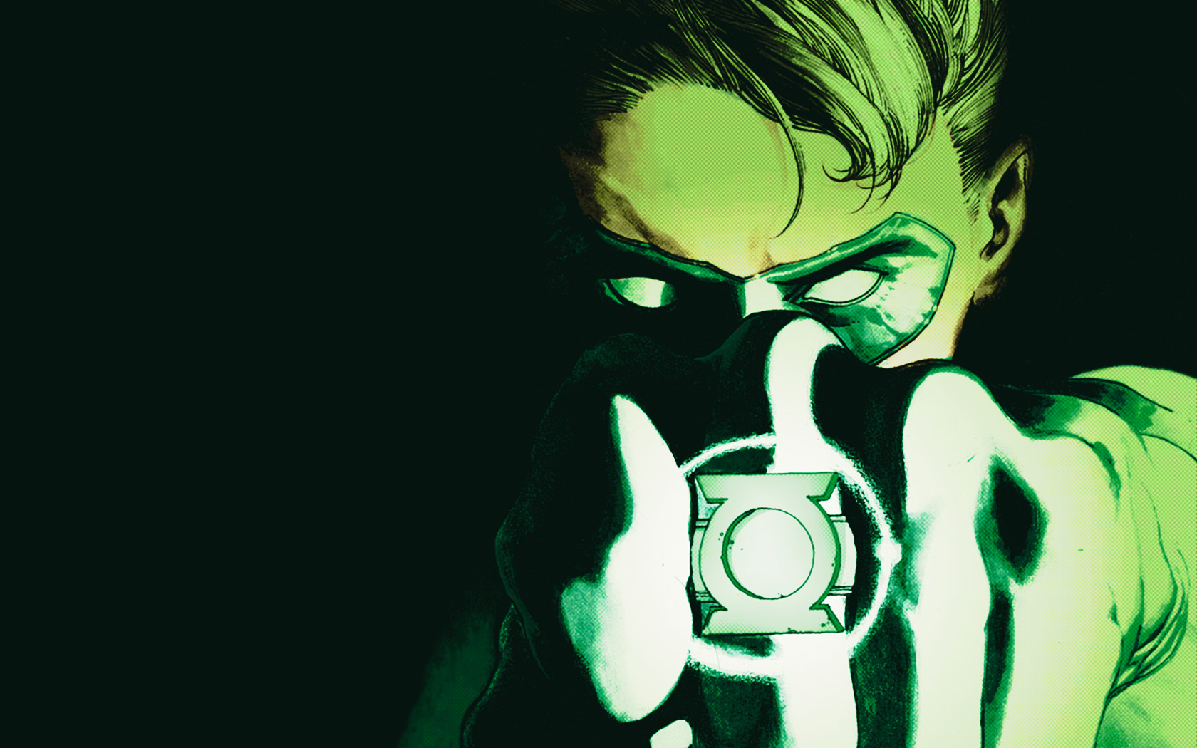Beautiful Green Lantern Pics in HQFX