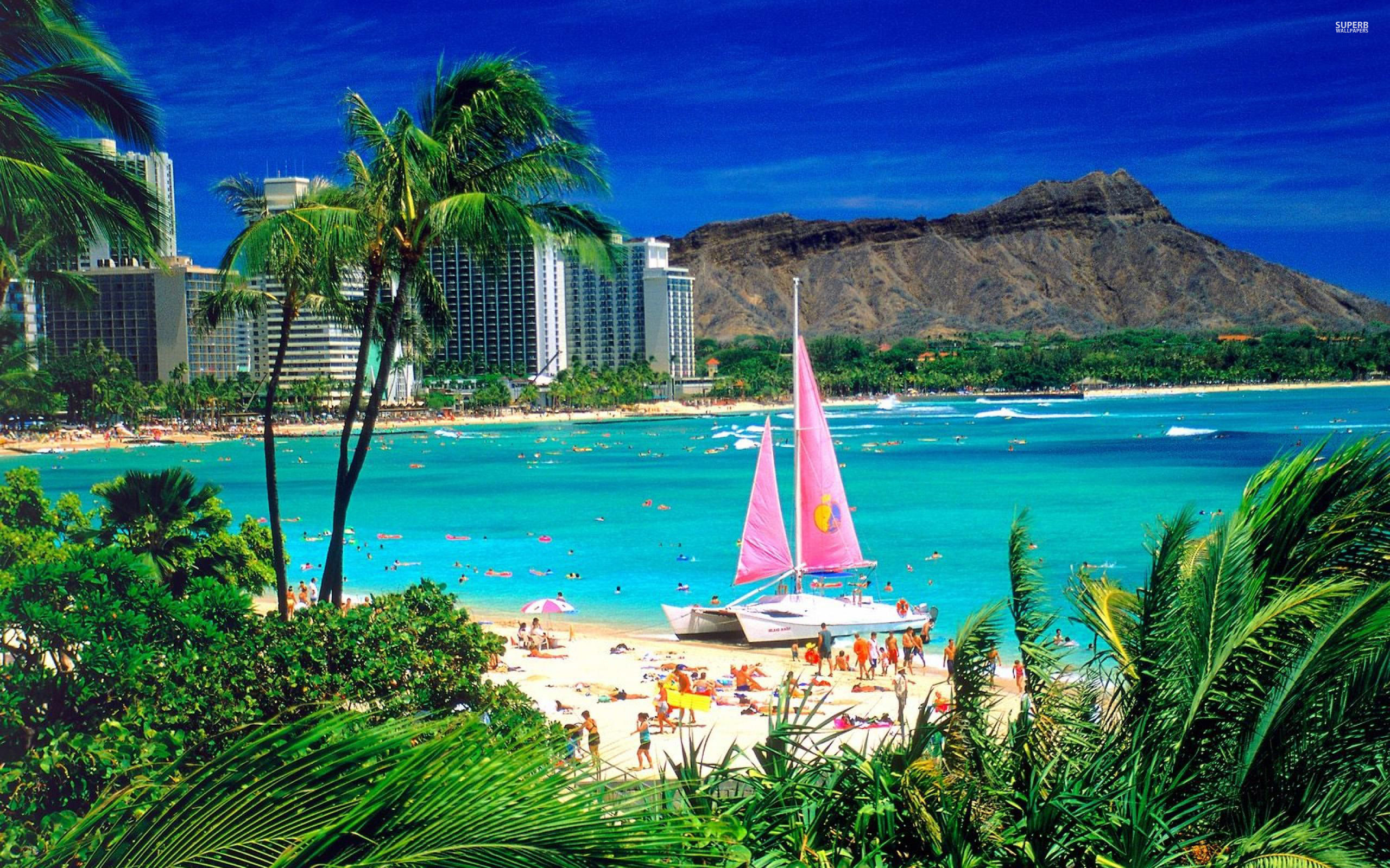 Fine Gallery Of Hawaii Backgrounds 2560x1600 Kary Nye