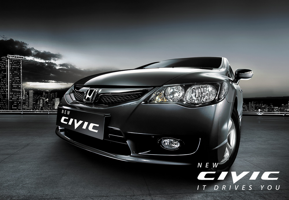 New Honda Civic HQ Definition Wallpapers