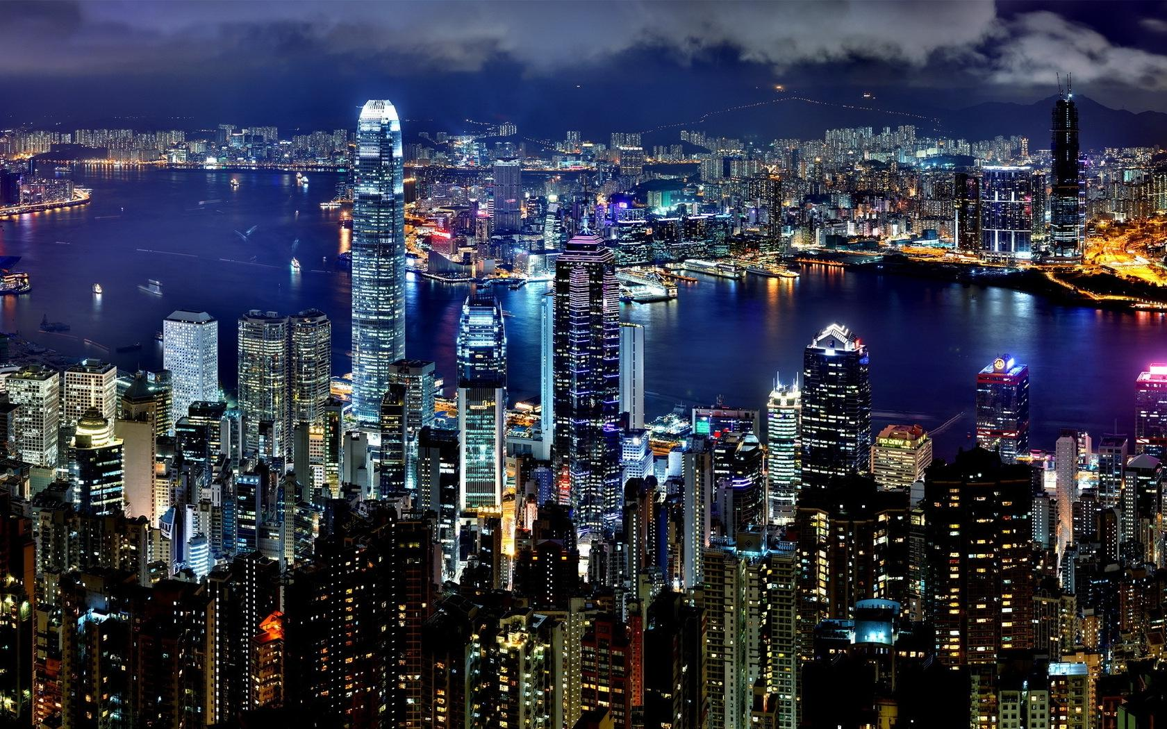 Full HD Cool Hong Kong View Backgrounds HD Wallpapers